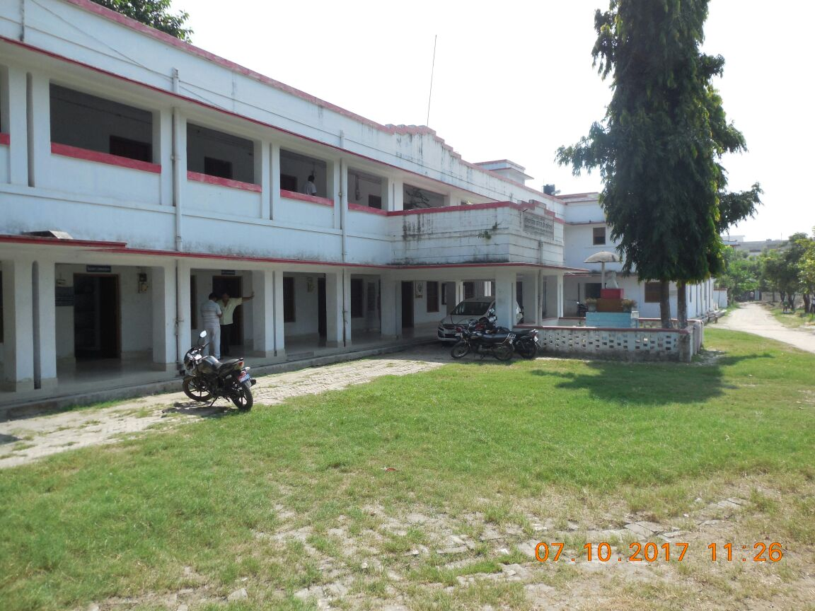 Administrative building.
